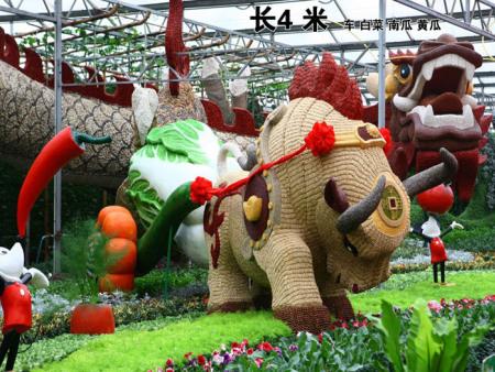 蔬菜瓜果雕塑加工-山东蔬菜瓜果雕塑制作商