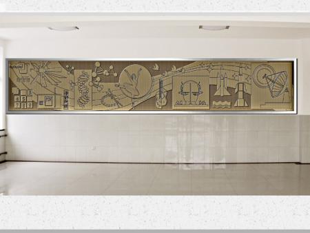 浮墙雕塑订制-承航景观工程_浮墙雕塑设计新颖