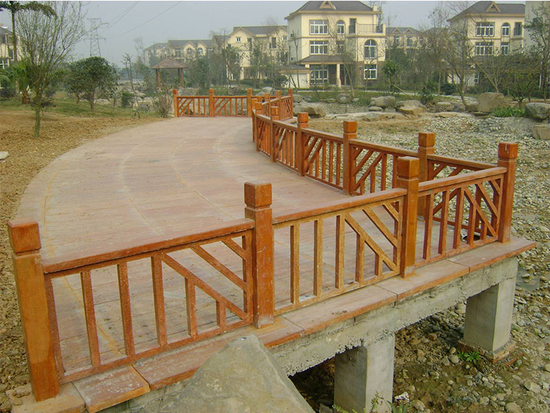 买专业的水泥栏杆护栏就选三明水泥仿木栏杆厂家   特价批发