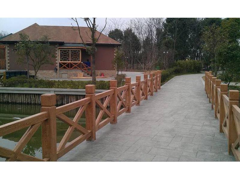 具有口碑的水泥栏杆围栏供应   永春县水泥仿木栏杆厂家