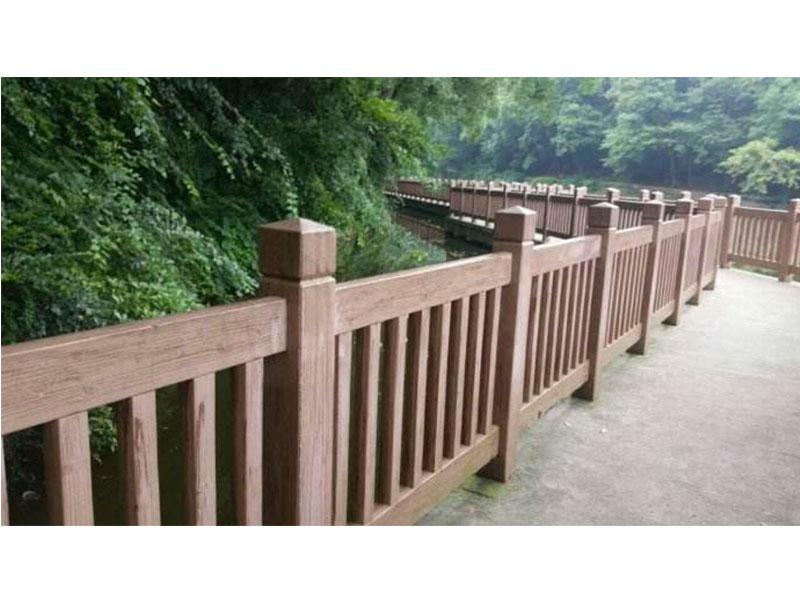 厦门水泥仿木栏杆厂家—栏杆供应专业报价  水泥仿木栏杆供应