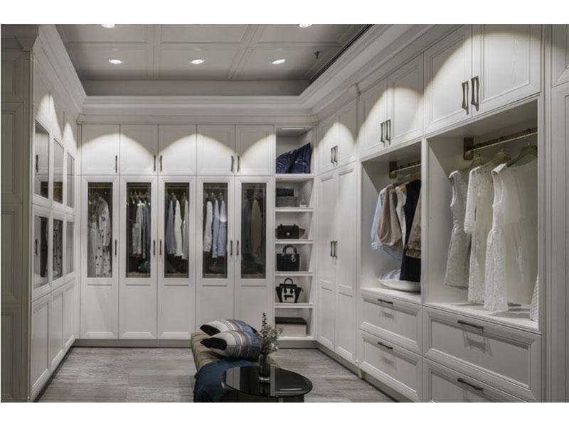 整体衣柜哪里买-力荐美寸装饰性价比高的整体衣柜