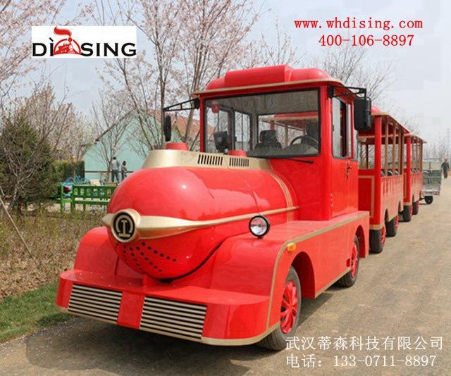 燃油观光小火车景区燃油观光小火车蒂森科技燃油观光小火车