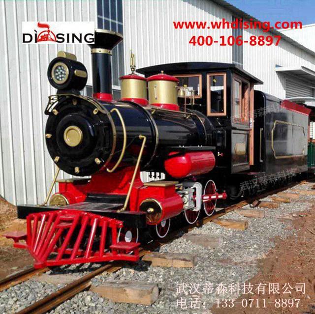 轨道观光小火车,景区轨道观光小火车武汉蒂森有轨观光小火车厂家
