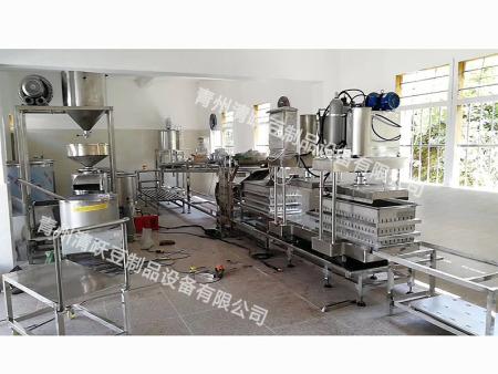 榆林 安康仿手工豆腐皮机千张机干豆腐机器