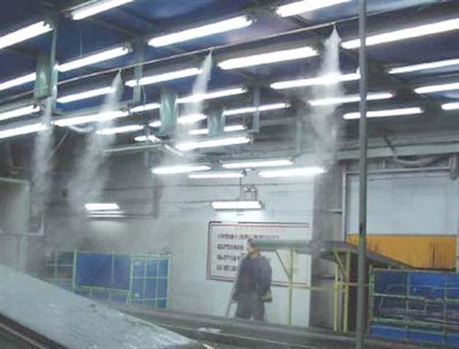 广州纸箱厂生产线加湿,全自动喷雾加湿系统出售