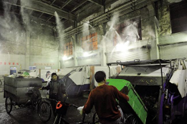 池州垃圾站除臭设备