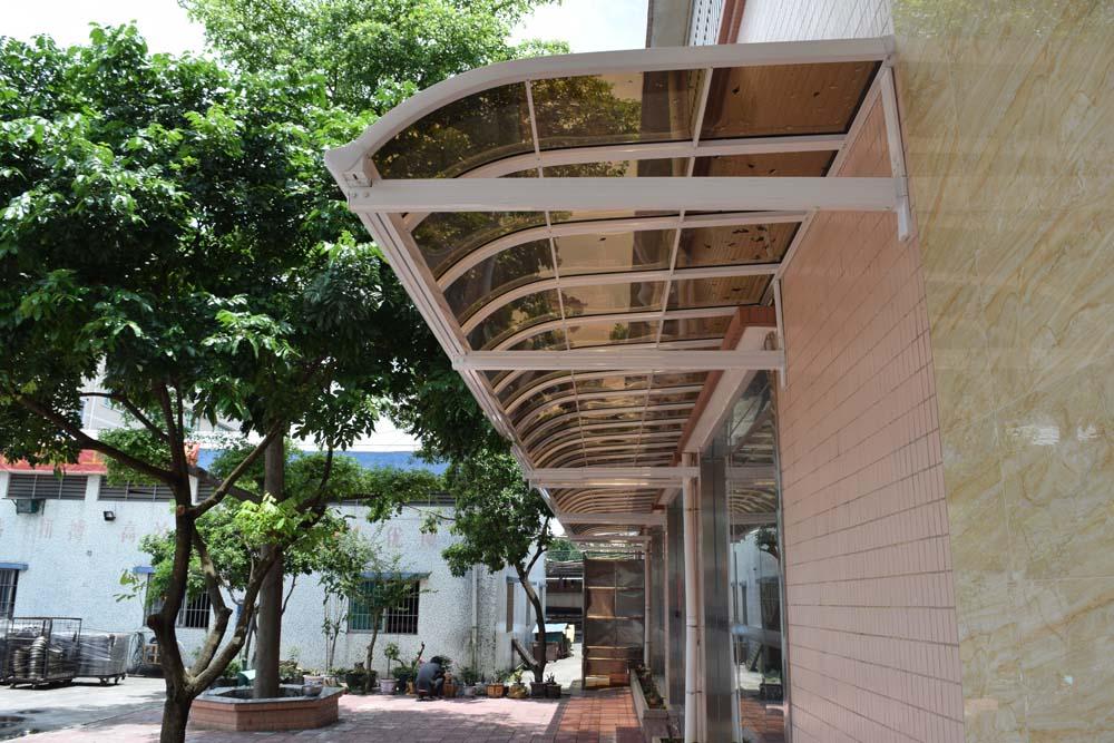 铝合金遮阳棚自动室户外阳台档雨蓬窗棚欧式防雨棚富诺尼华