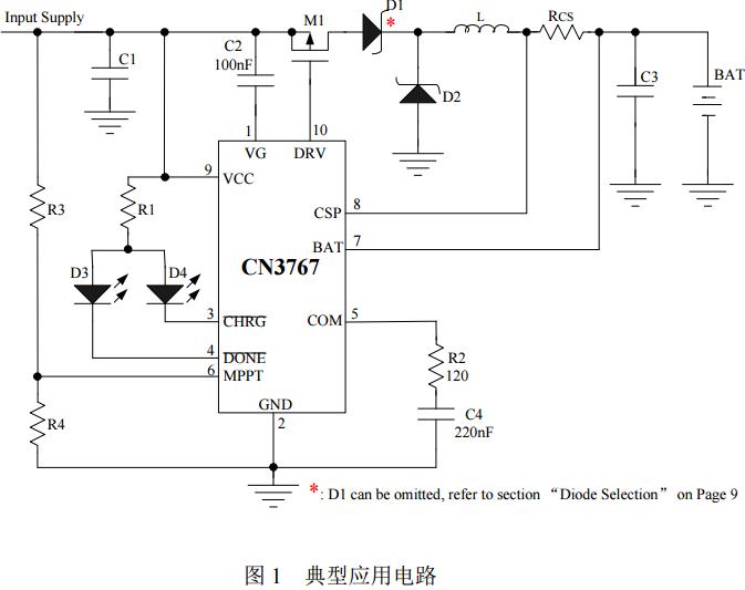 CN3767太阳能充电芯片12V铅酸电池充电方案找凯特瑞