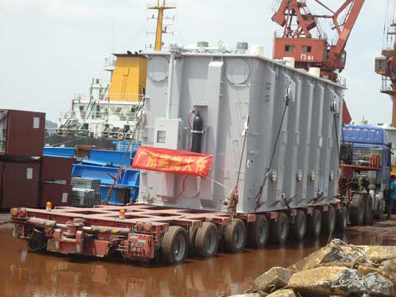 广东超重机械运输,广东大件杂货运输优选广州惠海物流公司