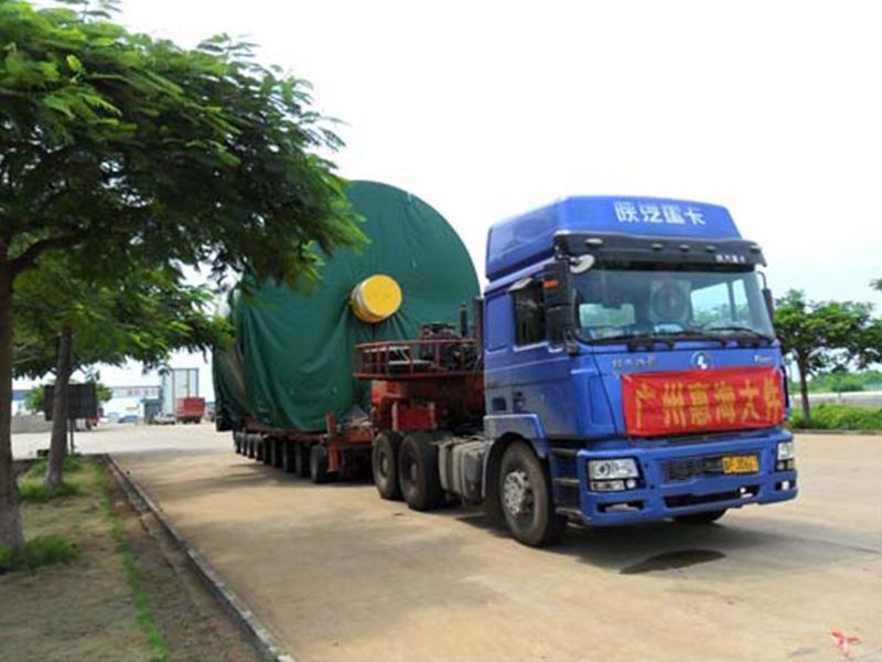 广东大型设备运输,广州工业设备运输优选广州惠海物流有限公司