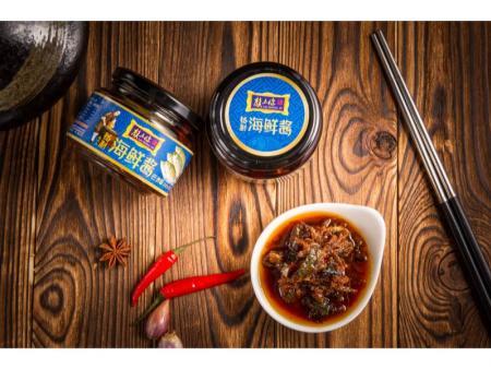 重庆巴浪鱼海鲜酱-一赖食品-可信赖的巴浪鱼海鲜酱经销商