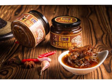 秋公鱼海鲜酱加盟-一赖食品-的秋公鱼海鲜酱厂商