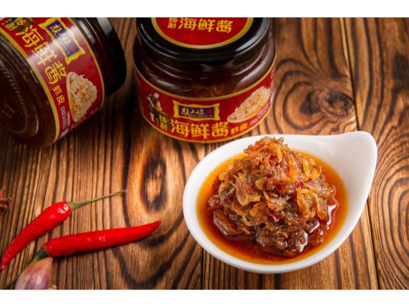 虾皮海鲜酱代理_一赖食品-实力强的虾皮海鲜酱供货厂家