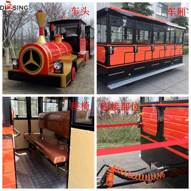 武汉蒂森景区观光小火车旅游观光火车