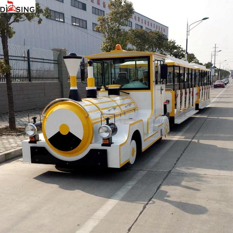 汽油电动火车无轨观光小火车尺寸