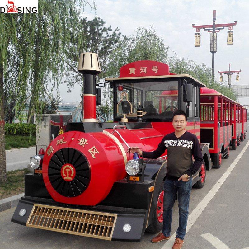 18座板金电动观光小火车尺寸