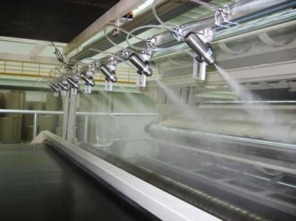 江门纸箱厂加湿除静电、环保喷雾加湿系统设计
