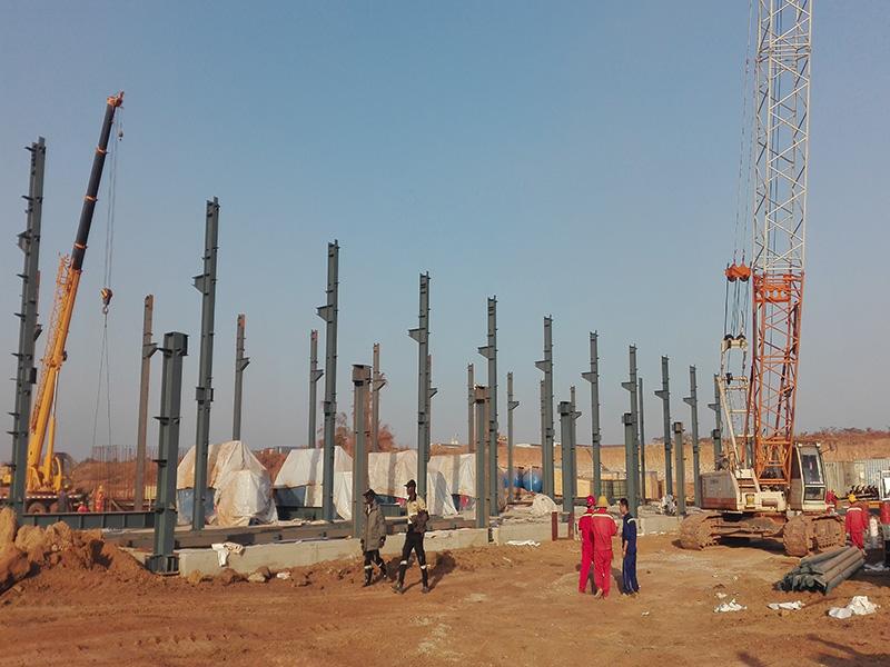 烟台钢结构加固 烟台钢结构施工