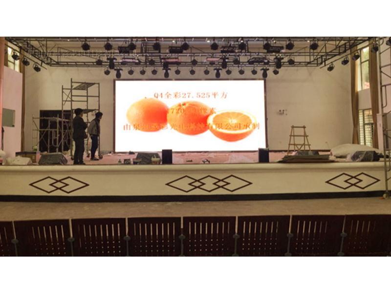 供应福建靠谱的室内P4表贴全彩,安徽LED舞台屏