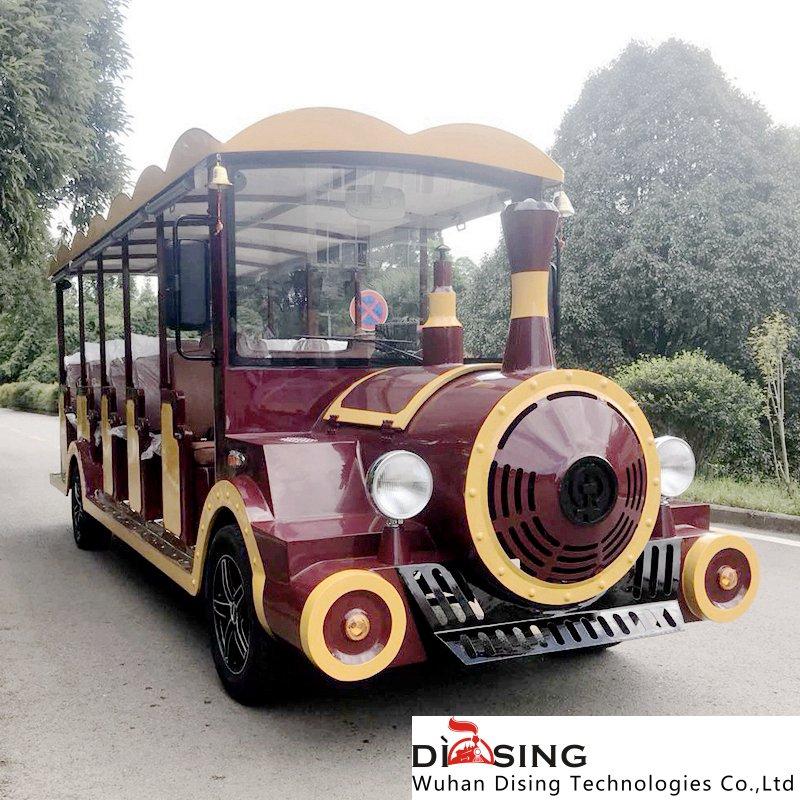 购买品质好的观光小火车当选武汉蒂森科技-绵阳观光小火车