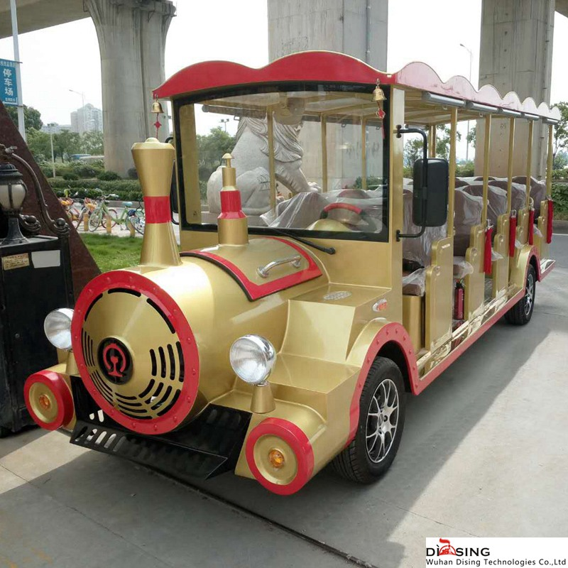 旅游30座有轨观光小火车图片