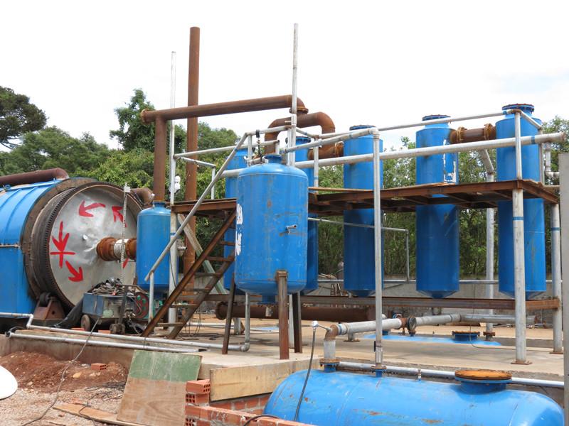 商丘四海提供商丘地区优良的废机油提炼柴油——废机油还原基础油