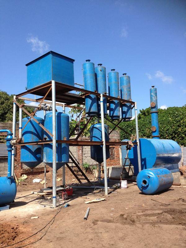 澳门废机油炼油厂家|商丘四海提供有品质的连续性废机油设备