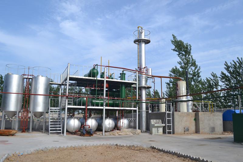 废机油处理设备 实惠的废机油炼油设备腾龙环保供应