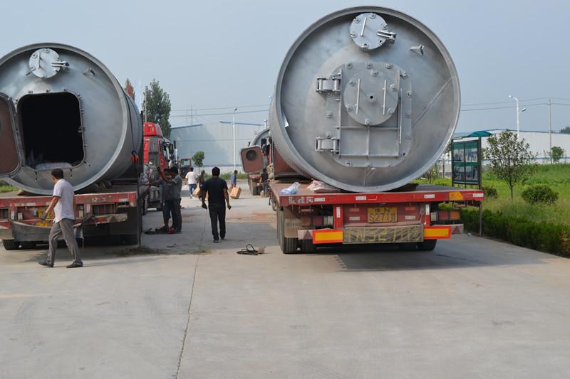 轮胎炼油设备厂家,废塑料炼油设备,高温裂解设备,商丘炼油设备