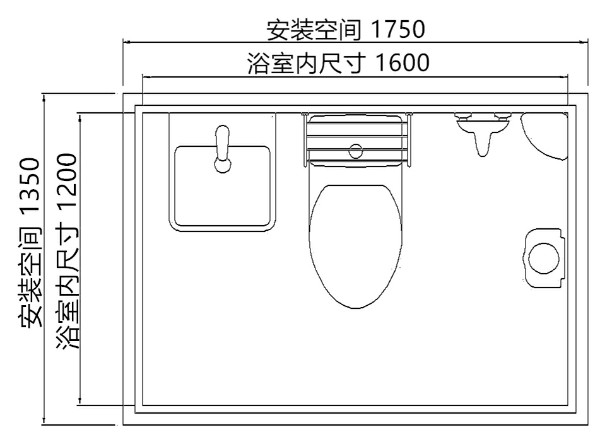 【厂家直销】徐州品质好的整体淋浴房|购买整体卫生间