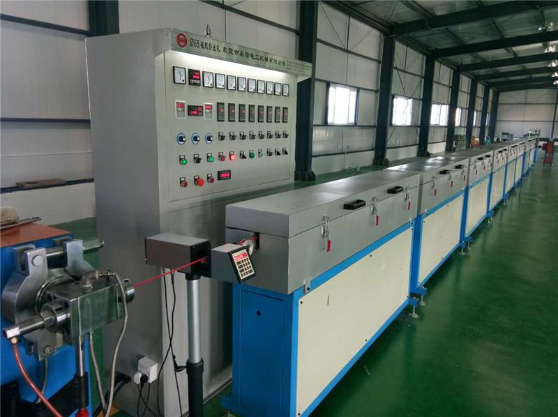 鼎隆供应金属发热线挤出机 碳纤维发热线挤出机设备