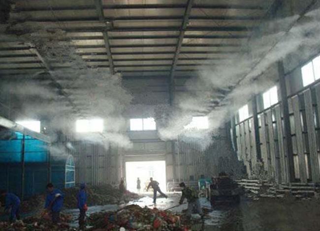 垃圾發電站植物液噴淋除臭、垃圾卸料平臺除臭