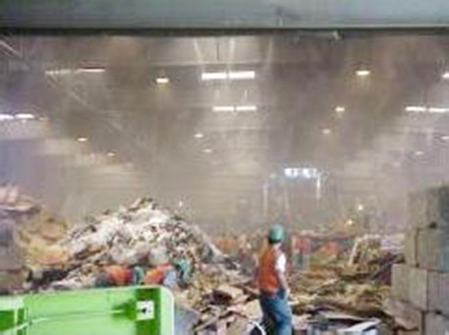 商场干、湿垃圾房除臭设备,植物液喷淋除臭设备