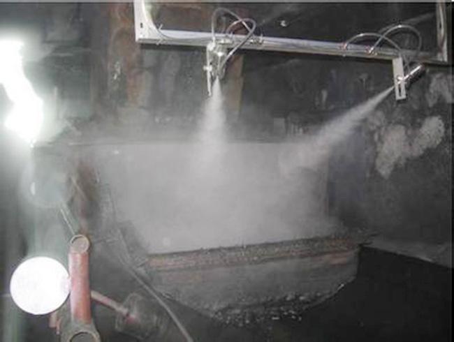 喷雾抑尘装置