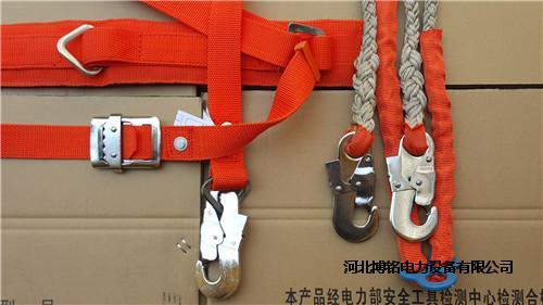 电力安全带全身五点式安全带加厚锦纶双背安全带
