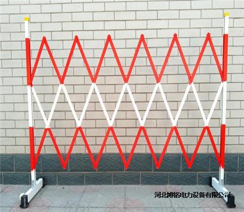 玻璃钢绝缘围栏电力伸缩安全围栏绝缘片式伸缩护栏
