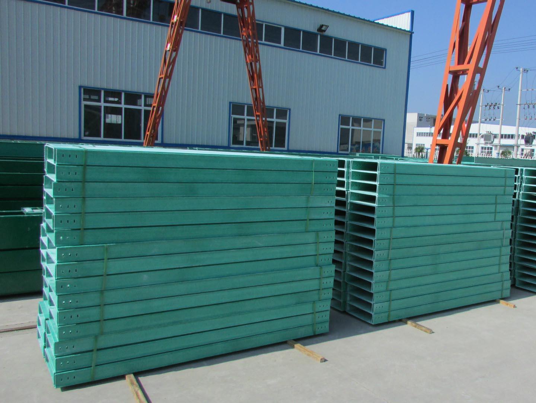浙江工厂现货 价格低的槽式玻璃钢电缆桥架批发价
