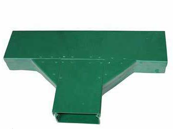 模压拉挤成型玻璃钢电缆桥架 300*200槽式电缆桥架规格型