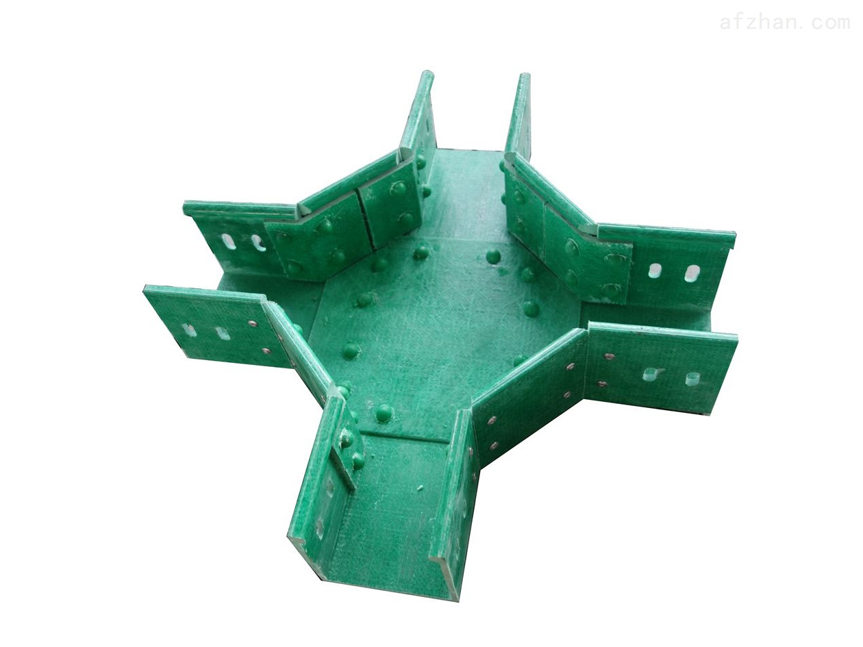 河北智凯优选产品-槽式玻璃钢电缆桥架 防火电缆支架选型