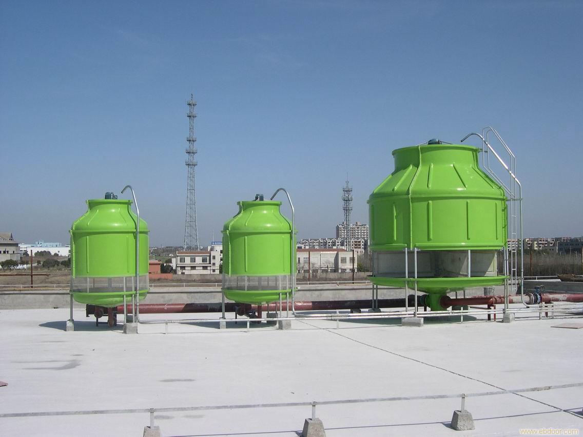 DBNL-50噸玻璃鋼冷卻塔 河北智凱供應低噪聲冷卻塔 當天