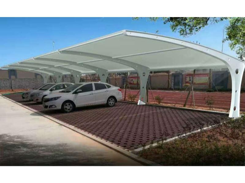 泉州区域有信誉度的膜结构停车棚厂家-丰泽膜结构停车棚