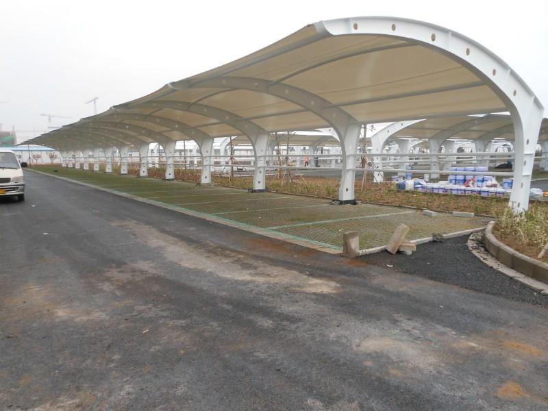 泉州区域有信誉度的膜结构停车棚厂家——武平膜结构停车棚批发