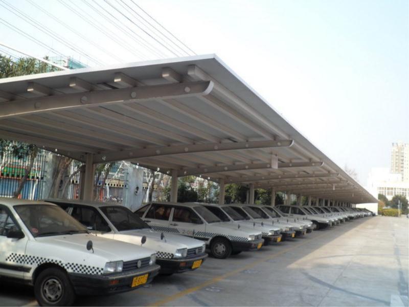 停车棚哪里找,专业的停车棚建造