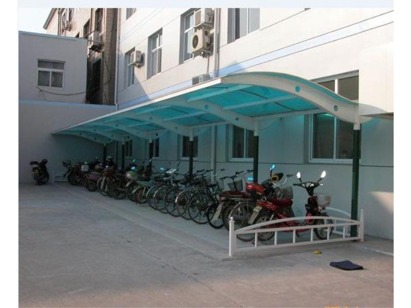 自行车停车棚建造找永恒停车棚_上海自行车停车棚