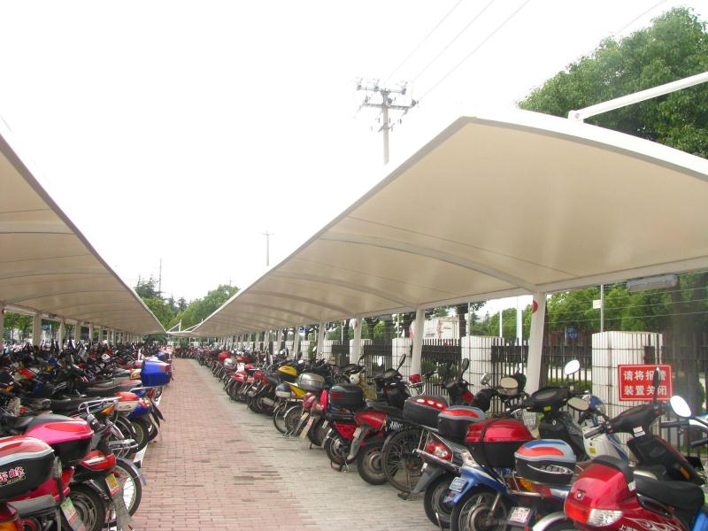 自行车停车棚供应商 自行车停车棚专业制造厂家