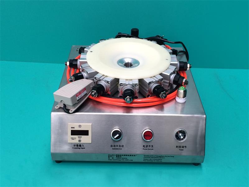 组装灯设备 E27灯头与塑料件打12点灯头锁紧器自动灯头机