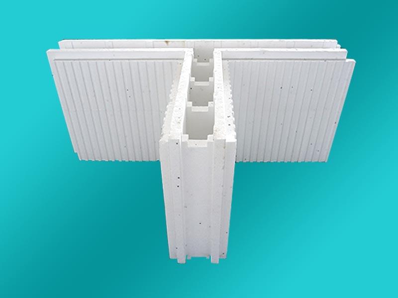 EPS空腔模块大棚建造保温模块空腔聚苯模块