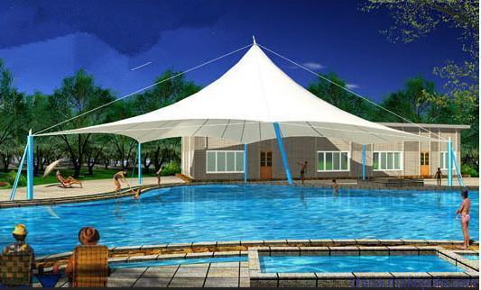 游泳池膜结构