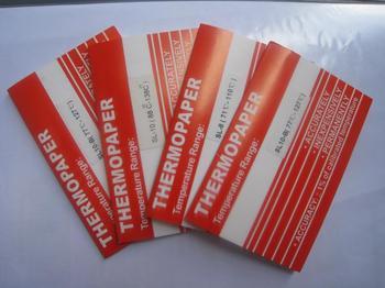 江蘇價格超值的測溫紙供銷,德國福祿可逆型測溫紙